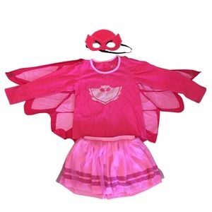 PJ Masks Owlette 4-Piece Wearable Outfit Costume
